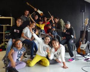 Retour en images : les jeunes musiciens en stage à Music'Halle