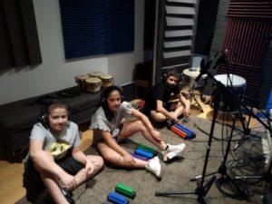 Réarrangement musical & enregistrement avec les jeunes de la MJC Prévert